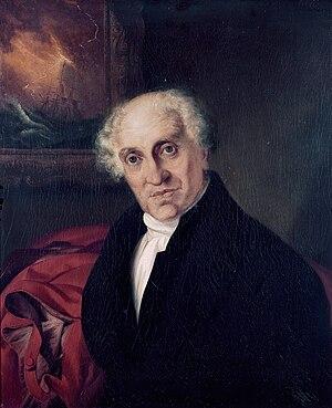 Alexander John Scott - The Reverend Doctor Alexander Scott, by Siegfried Detlen Bendixen