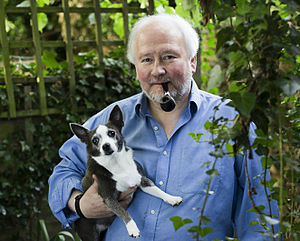 Andrew Linzey - The Revd Prof. Andrew Linzey and his dog in 2015