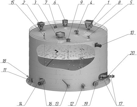 Клапан дыхательный механический КДМ Санкт-Петербург