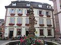 Ribeauvillé - Fontaine - place de l'Hôtel de Ville et Maison - 1 rue de la Mairie (6-2016) IMG 3287.jpg
