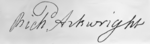 Richard Arkwright signature.png