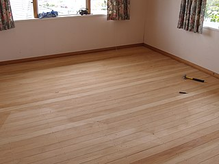 Podlaha po vybrúsení