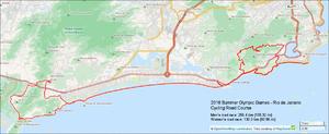 Pontal (Rio de Janeiro) - 2016 Olympic Cycling - Road Course