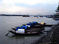 River Ganga with Howrah bridge in the backdrop.jpg