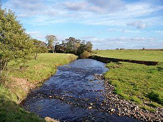 River Sark - River Sark near Springfield