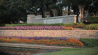 Missouri City, Texas - Riverstone, an upscale master-planned community in Missouri City's extraterritorial jurisdiction