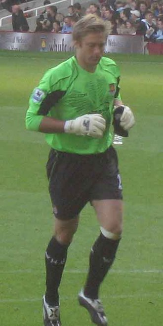 Robert Green - Green playing for West Ham United in 2006
