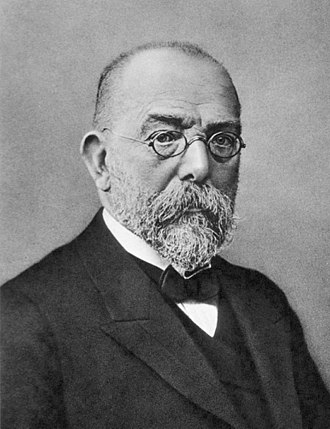 Koch's postulates - Image: Robert Koch Be W