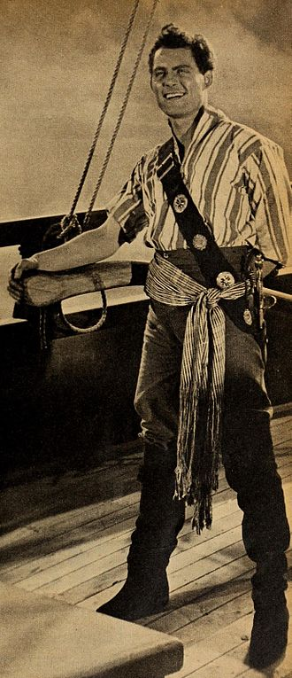 The Buccaneers (TV series) - Robert Shaw as Captain Dan Tempest
