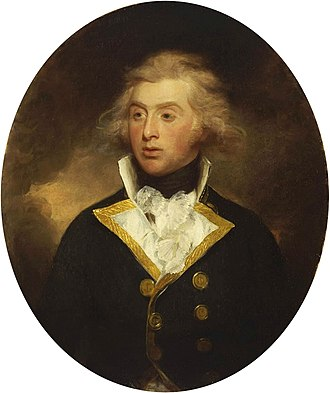 Robert Stopford (Royal Navy officer) - Robert Stopford, c.1790-91, by Henry William Beechey, in the collection of the National Maritime Museum