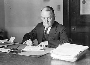 Robert W. Woolley - Image: Robert W, Woolley at his desk