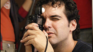Roberto F. Canuto - Roberto F. Canuto in the shooting of Desire Street
