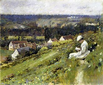 Arconville - A 19th-century painting of the Valley of Arconville by Theodore Robinson