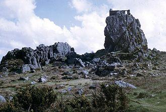 Roche, Cornwall - Roche Rock