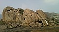 Rock formations at Bodhikonda1.jpg