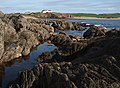 Rocks and pools near Warren Point - geograph.org.uk - 1513111.jpg