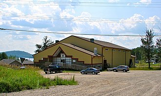 Biinjitiwabik Zaaging Anishnabek First Nation - Rocky Bay community centre