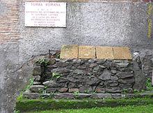 Tomba romana del II secolo a.C.