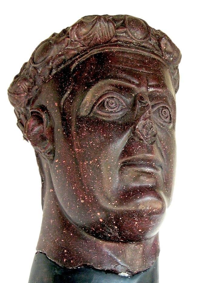 Romuliana Galerius head