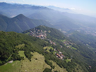 Province of Bergamo - View of Roncola.