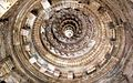 Roof detail at Modhera Sun temple (16214803417).jpg