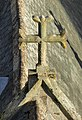 Rooftop Crucifix on the Church of St Michael at the North Gate.jpg