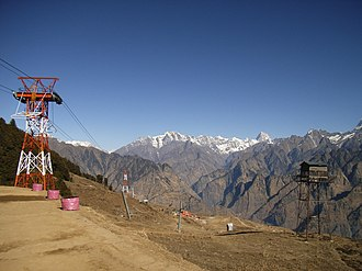 Jyotirmath - Ropeway from Joshimath to Auli