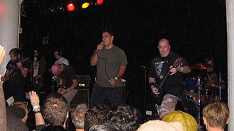 Rorschach (band) - Rorschach live in New York City in 2009