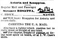 Rosetta ad DailyAstorian 11 May 1881 p4.jpg