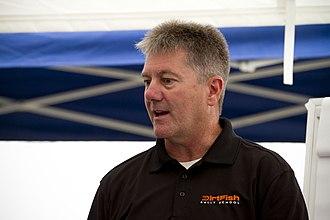 Ross Bentley - Ross Bentley with DirtFish Rally School in July 2011.
