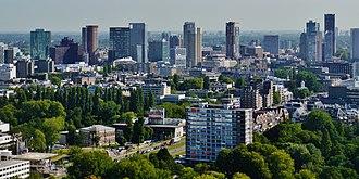 Randstad - Image: Rotterdam Blick vom Euromast 03