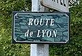 Route de Lyon (Belley), panneau.jpg