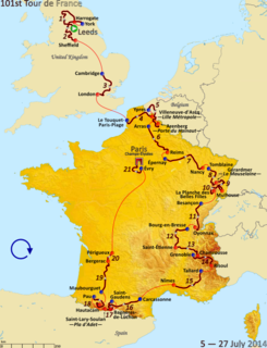 2014 Tour de France cycling race