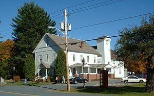 Rowe, Massachusetts - Rowe Town Hall