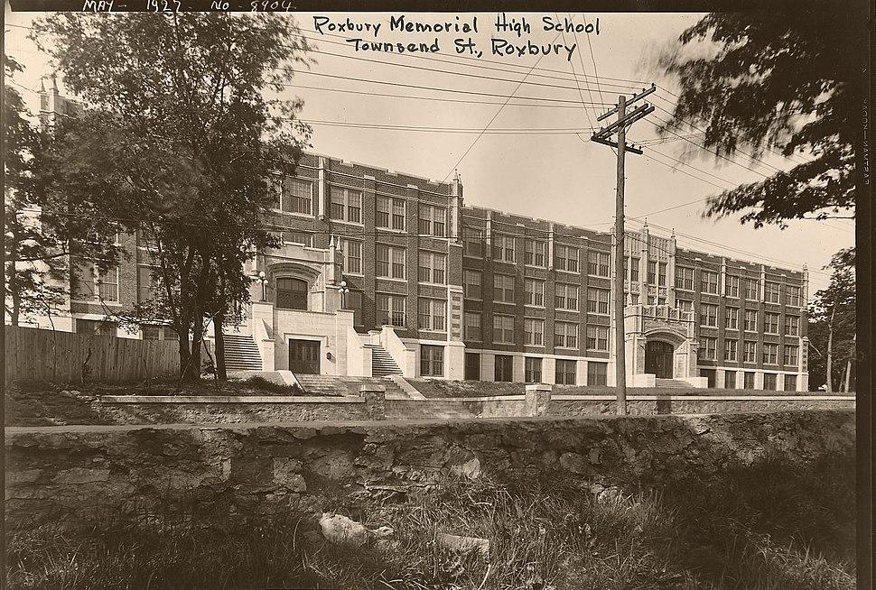 Roxbury Memorial High School - 0403002147b - City of Boston Archives