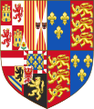 Royal Arms of England (1554-1558).svg