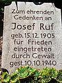 Ruf Joseph, Gedenkstein-DL.JPG