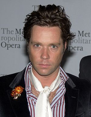 Rufus Wainwright - Wainwright in 2010 at the Metropolitan Opera opening night of Das Rheingold