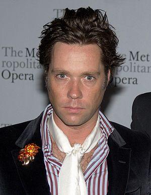 Rufus Wainwright - Wainwright in 2010 at the Metropolitan Opera opening night of Das Rheingold