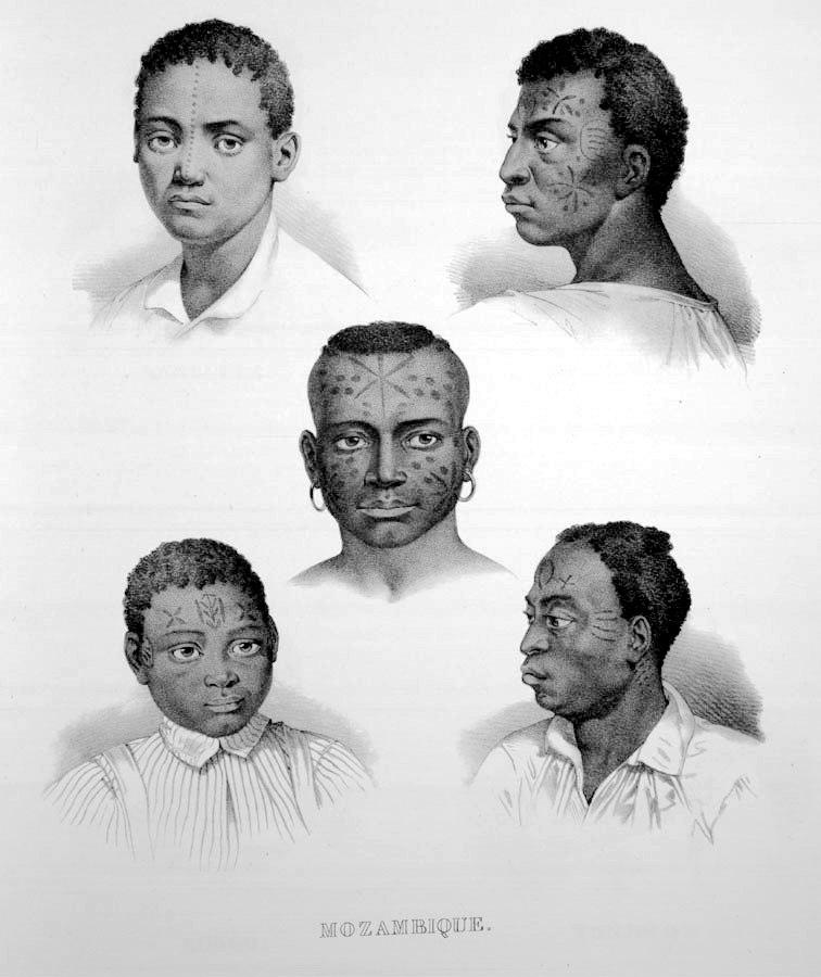 Rugendas - Escravos de Moçambique