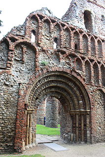 St. Botolphs Priory Grade I listed priory in the United Kingdom