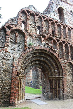 St. Botolph's Priory in Colchester, Essex