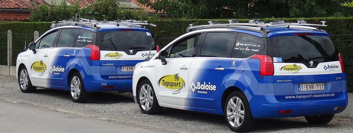 Rumillies (Tournai) - Tour de Wallonie, étape 1, 26 juillet 2014, ravitaillement (A15).JPG