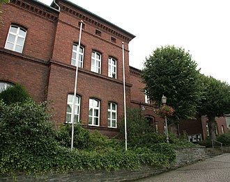 Runkel - Runkel Town Hall, former Amt courthouse