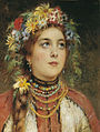 Russian beauty in summer garland by Konstantin Makovsky.jpg