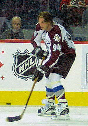 Ryan Smyth - Smyth with the Avalanche