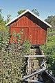 Sågen sedd från gaveln, Focksta kvarn, Hagby socken, Uppland.jpg