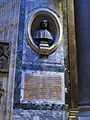 S.m. sopra minerva, int. monumento a baldassarre peruzzi.JPG