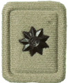 SANDF Rank Insignia 2nd Lieutenant embossed badge.png