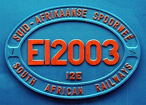 South African Class 12E - Image: SAR Class 12E 12 003 ID